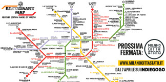 Restaurant Map Milano New version