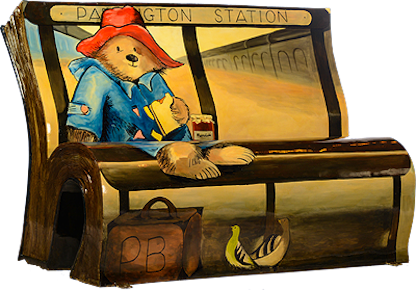 panchine letterarie londra paddington